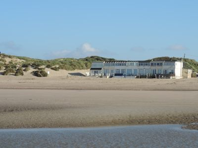 Photo for Beach Front Property with Direct Access to Award Winning Sandy Beach and Dunes