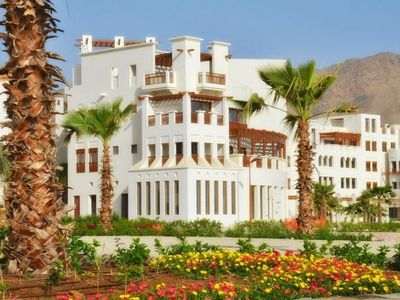 Photo for As Samiyah Apartment, Sleeps 4 with Pool, Air Con and WiFi