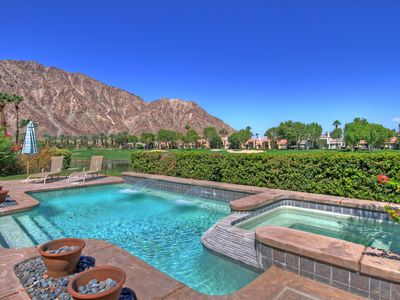 Photo for Spectacular Desert Retreat with Pool on the PGA West Palmer Private Course!