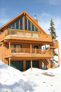 Photo for BEAUTIFUL, HUGE  SKI-OUT CABIN AMAZING VIEWS *BEST 5 STAR REVIEWS*  SLEEPS 11