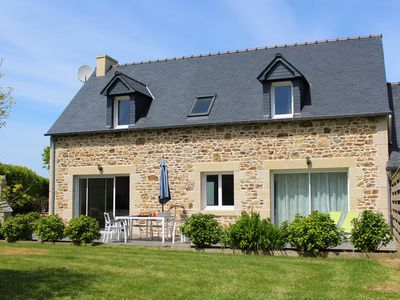 Photo for Montbretias Tri - Modern stone cottage for 6, in a quiet hamlet but only 1,5km from the beach