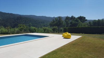 Photo for Charming Quiet Villa - Pool with a View