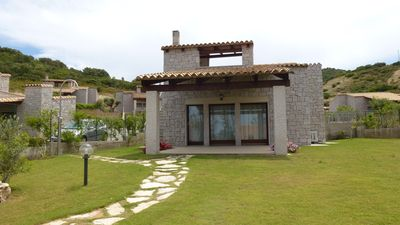 Photo for Terraced Cala Sinzias just 500 meters from the beach