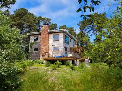 Photo for NEW LISTING! Custom Fox Island 4BD/2BA Home--Amazing Views, Only 0.3 MI to Bay Beach!