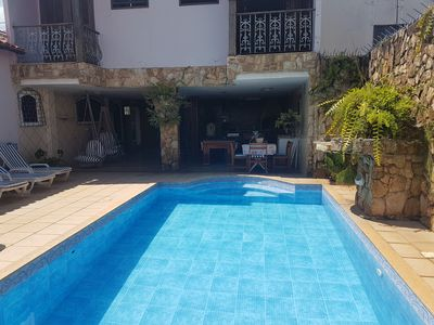 Photo for Beautiful House 300 meters from the beach of Centro, with pool