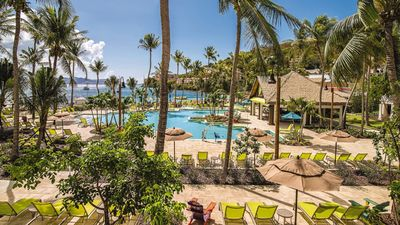 Lounge by the pool or the Caribbean waters at St. Thomas Margaritaville!