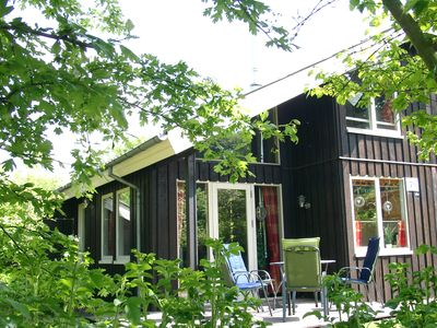 Photo for Holiday house for 5 people with fireplace & sauna, WiFi, quiet location in the Weser Uplands