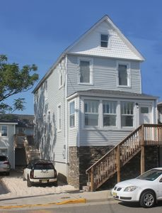 Photo for Beautifully Updated Beach House One Block To The Beach