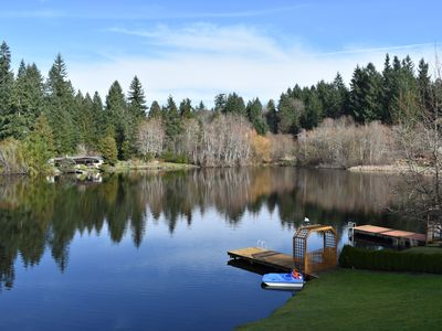 Photo for Relax on the lake in Gig Harbor