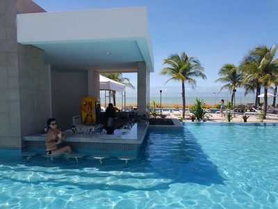 Photo for In Mare Bali Resort - Beachfront penthouse in Cotovelo - Natal RN