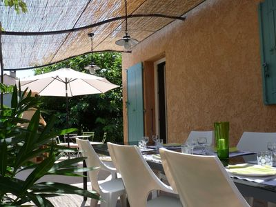 Photo for Cozy and family house, near Aix in the heart of the village.