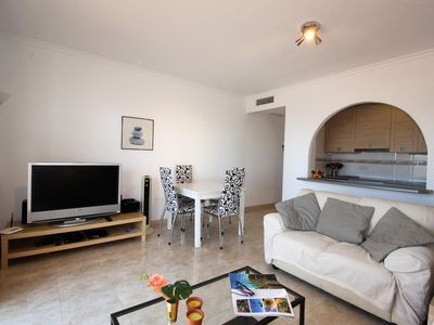 Photo for Cariño, child-friendly apartment with panoramic sea view