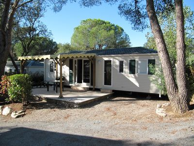 Photo for Saint raphael agay MOBILE HOME 6 PEOPLE COMFORTABLE FAMILY