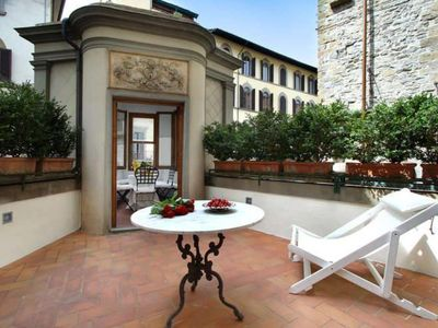 "Photo for Luxury Apartment in Florence ""TERRAZZA DE' MEDICI"""