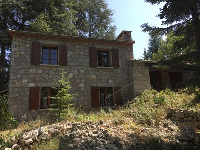 Photo for Beautiful detached holiday home overlooking the Ardeche valley