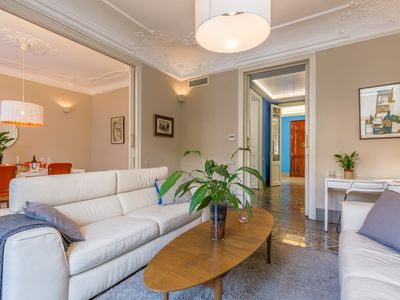 Photo for MONTABER EIXAMPLE - Elegant and luxury apartment