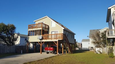 Photo for A Great Bargin, Pet Friendly. Two & half blocks from the beach.