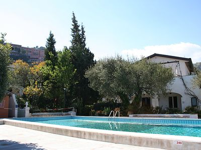 Photo for One bedroom Apartment, sleeps 3 in Taormina with Pool and WiFi