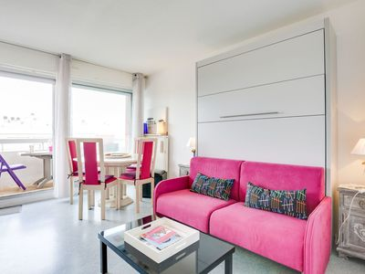 Photo for Cosy apartment with TV, balcony and parking