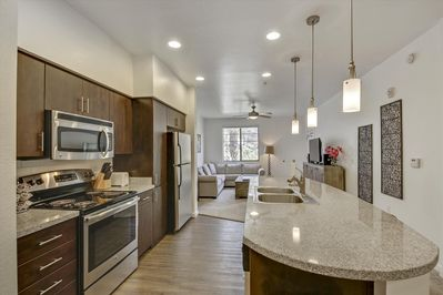 Modern Kitchen and Counter Space