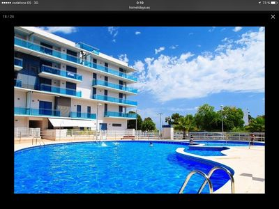 Photo for 1 NEW WITH SUITABLE pool facing BEACH CAMBRILS
