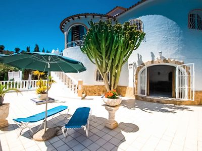 Photo for Cuenca - holiday home with private swimming pool in Benissa
