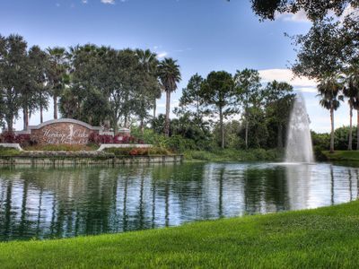 Photo for Second floor, 2 bedroom 2 bath condo with great view of the 14th hole in Heritage Oaks!