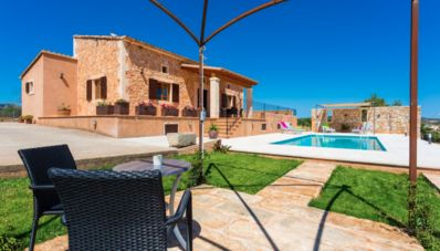 Photo for Bright and comfortable typical Mallorcan rural finca with modern pool