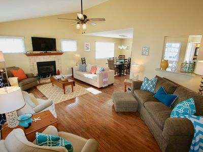 Photo for ***WEEK 6/22 Avail At Huge SAVINGS!***4SeasonHaven* Steps2Beach WiFi Updated 4BR