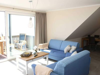 Photo for Apartment 05 with south-facing balcony and sea view - P: Zollhaus Klein Zicker - exclusive apartments with sea view