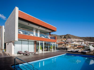Photo for Exclusive Modern Villa, Sea views, Large Swimming Pool, Air Conditioning.