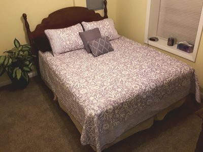 Photo for 1 mile from Quaint Downtown, Newly Updated (King Bed)