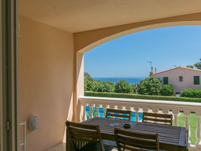 Photo for 2 bedroom apartment in Aiguafreda, Begur. Sea views, terrace and pool (Ref:H11)