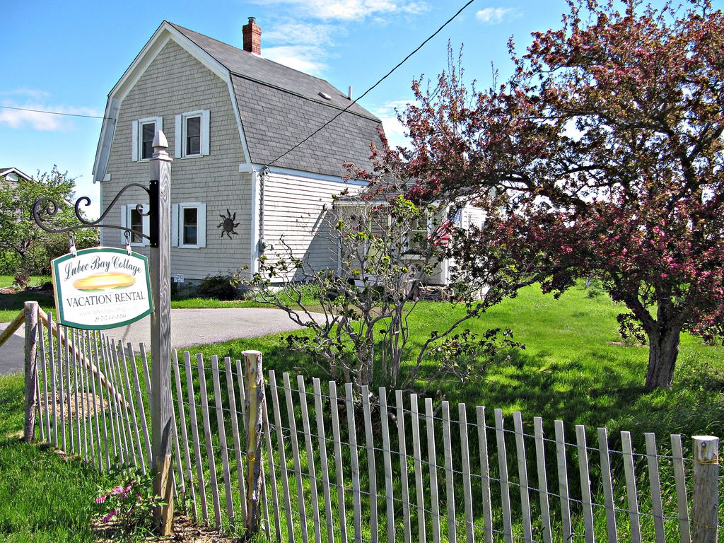 Welcome To Lubec Bay Cottage Nestled In A Garden Oasis