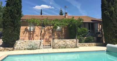 Photo for Modern House in Provence with Pool near Aix