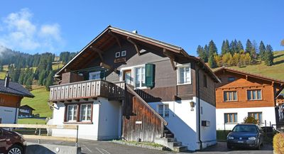 Photo for right on the ski hill, a cozy 2 bedroom with living room apartment fits 6 people