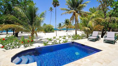 Photo for Beachfront | Beachside Private Pool | Immaculately Kept | Private Dive Resort