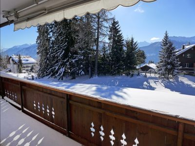 Photo for Apartment Les Pierres C  in Crans - Montana, Valais - 4 persons, 2 bedrooms