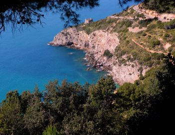 Tuscany: Two Villas with jaw-dropping sea view in  Monte Argentario. Beach walking distance. - Villa Luna,  sea view and access to  beach in the heart of Tuscany