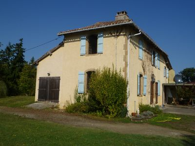 Photo for Lagarde-Hachan  Farmhouse with private pool