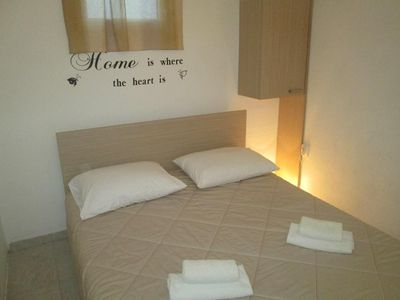 Photo for Studio flat with balcony and sea view Privlaka, Zadar (AS-5746-a)
