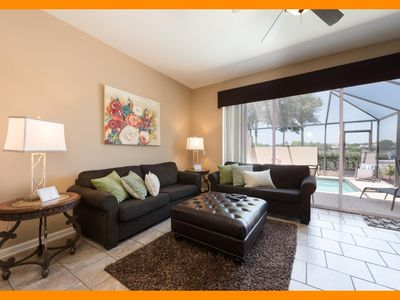 Photo for Windsor Hills Resort 374 - villa with private pool & themed bedrooms near Disney