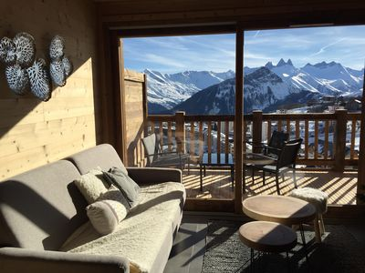 Photo for New luxury apartment La Toussuire - Ski in ski out - 8 people