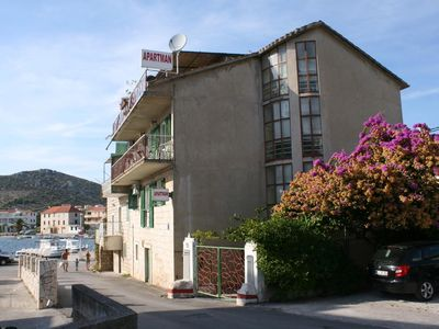 Photo for Three bedroom apartment with air-conditioning Seget Vranjica (Trogir)