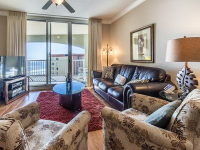 Photo for Modern Gulf Front Condo! Pools Onsite, Nearby Activities, Shops, Restaurants!