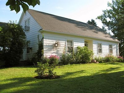 Photo for Classic home in Wolfville, large private garden, spectacular view