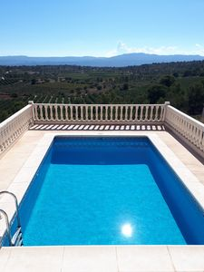 Photo for Luxury villa with private pool and gardens, free WiFi, free Sky TV.