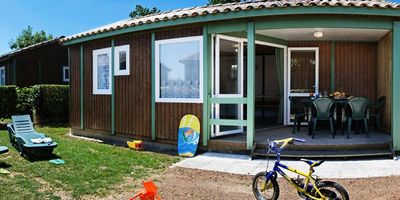 Photo for Camping Les Chenes Blancs **** - Chalet 4 Rooms 6 People