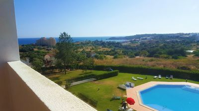 Photo for Sea View, Pool and Sea View, 0.8km from the beach, Restaurants Mini market!