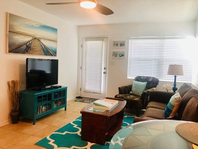 Photo for Historic Pass-a-grille beachfront condo with pool St. Pete Beach
